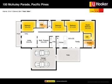 100 McAuley Parade, Pacific Pines, Qld 4211