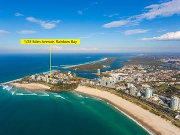 1/24 Eden Avenue, Rainbow Bay, Qld 4225