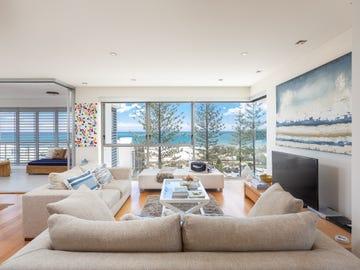 4/4 North Beach Apartment Cnr Kratzmann Av & Burleigh Heads Esplanade, Miami, Qld 4220
