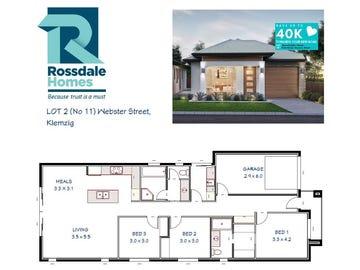 Lot 2/No 11 Webster Street, Klemzig, SA 5087