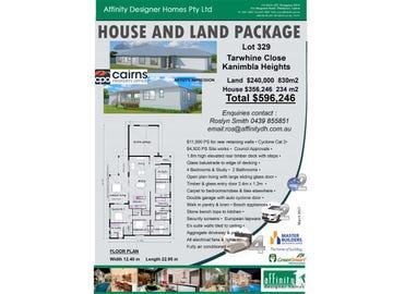 Lot 329 Tarwhine Close, Kanimbla, Qld 4870