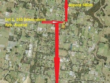 Lot 1, 145 Lot 1 145 Edmondson Avenue, Austral, NSW 2179