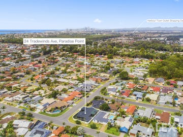 24 Tradewinds Avenue, Paradise Point, Qld 4216
