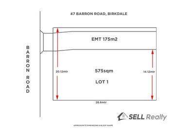 Lot 1, 47 Barron Road, Birkdale, Qld 4159