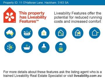 11 O'Halloran Lane, Hackham, SA 5163