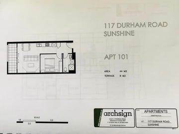 101/117 Durham Road, Sunshine, Vic 3020