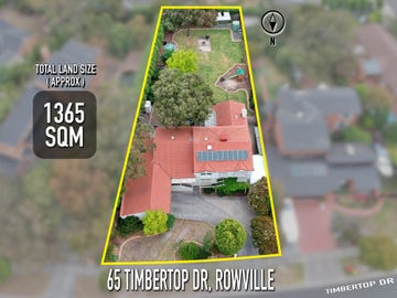 65 Timbertop Drive, Rowville, Vic 3178
