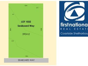 LOT 1032 Seaboard Way, Shell Cove, NSW 2529