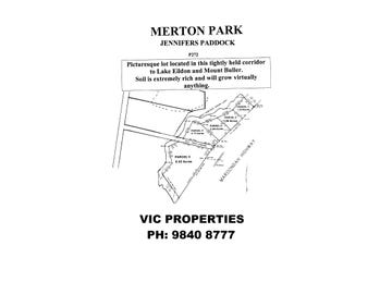Parcel 3 Maroondah Highway, Merton, Vic 3715