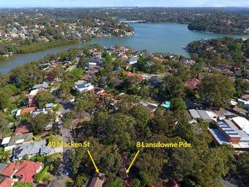 8 Lansdowne Parade (and 40 Macken Street), Oatley, NSW 2223