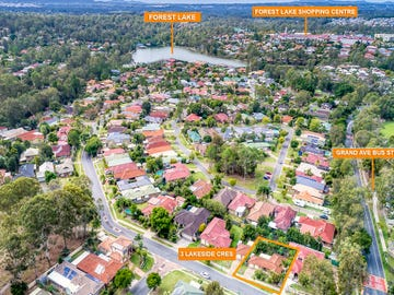 3 Lakeside Crescent, Forest Lake, Qld 4078