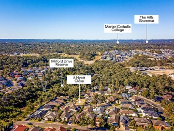 8 Hyatt Close, Rouse Hill, NSW 2155