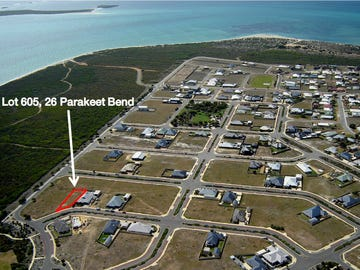 Lot 605, 26 Parakeet Bend, Jurien Bay, WA 6516