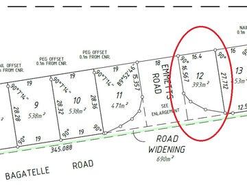 Lot 12, Bagatelle Road, Landsdale, WA 6065