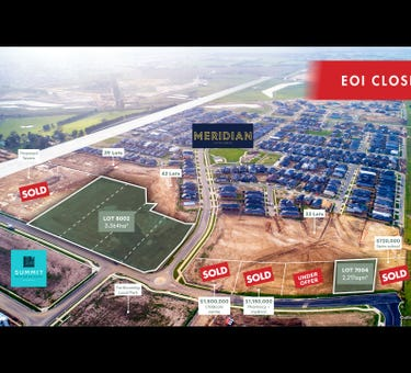Lot 8002 and 7004 Thompsons Road (frontage to Matterhorn Drive), Clyde North, Vic 3978