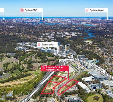 Stages 2 & 3 Lachlans Line, Macquarie Park, NSW 2113