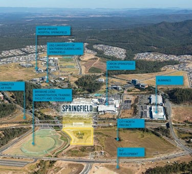 Springfield Central - Sports & Entertainment Precinct, Part of Lot 64 on SP291400 / proposed Lot 1, Springfield Central, Qld 4300