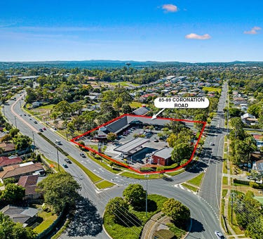 85-89 Cnr Middle Road and Coronation Road, Hillcrest, Qld 4118