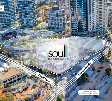 Soul Broadwalk, 4 The Esplanade, Surfers Paradise, Qld 4217