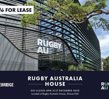 Rugby Australia House, Cnr Moore Park Road, Moore Park, NSW 2021