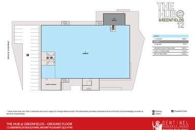 The Hub @ Greenfields, 12 Greenfields Boulevard Mount Pleasant QLD 4740 - Floor Plan 1