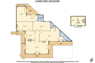 5 Howe Street Daylesford VIC 3460 - Floor Plan 1