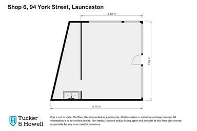 6/94 York Street East Launceston TAS 7250 - Floor Plan 1