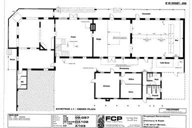 Custom House Hotel, 116 Wharf Street Maryborough QLD 4650 - Floor Plan 1