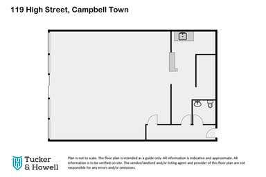 119 High Street Campbell Town TAS 7210 - Floor Plan 1