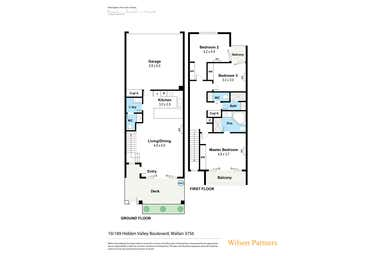 10/189 Hidden Valley Boulevard Hidden Valley VIC 3756 - Floor Plan 1