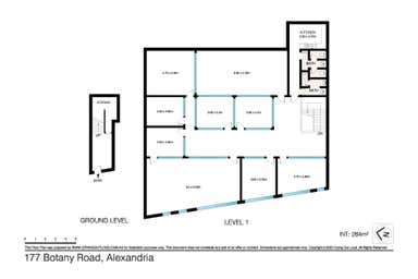Level 1, 177 Botany Road Waterloo NSW 2017 - Floor Plan 1