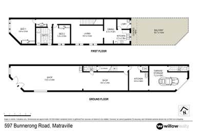 597 Bunnerong Road Matraville NSW 2036 - Floor Plan 1