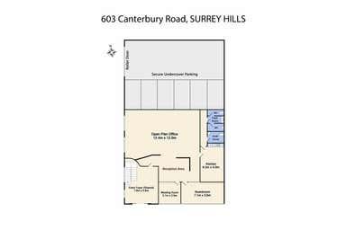 603 Canterbury Road Surrey Hills VIC 3127 - Floor Plan 1