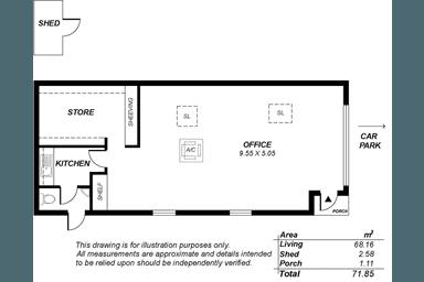 4 Garrod Crescent Stirling SA 5152 - Floor Plan 1