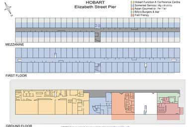 Elizabeth Street Pier, 4 Franklin Wharf Hobart TAS 7000 - Floor Plan 1