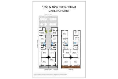 165A & 165B Palmer Street Darlinghurst NSW 2010 - Floor Plan 1