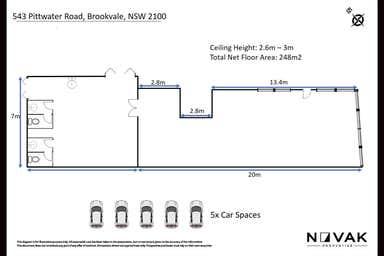 543 Pittwater Road Brookvale NSW 2100 - Floor Plan 1