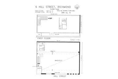 6 Hill Street Cremorne VIC 3121 - Floor Plan 1