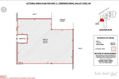 3 & 4/1 Zwerner Drive Hallett Cove SA 5158 - Floor Plan 1