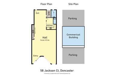 58 Jackson Court Doncaster East VIC 3109 - Floor Plan 1