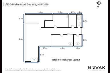 11/26 Fisher Road Dee Why NSW 2099 - Floor Plan 1
