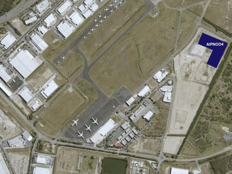 Brisbane Airport, address available on request
