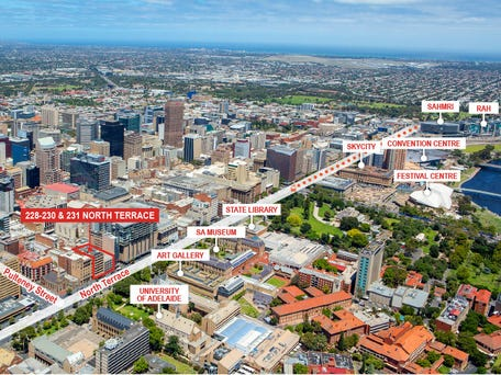 228-230 and 231 North Terrace, Adelaide, SA 5000