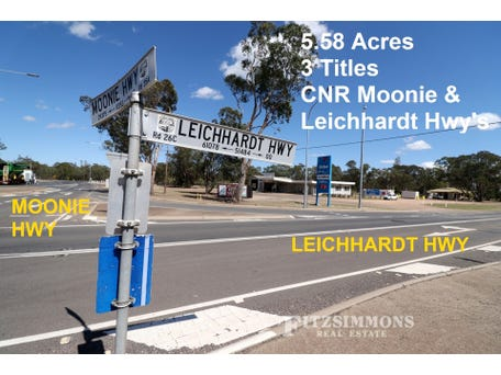 0 Corner Moonie Highway & Leichhardt Highway, Moonie, Qld 4406