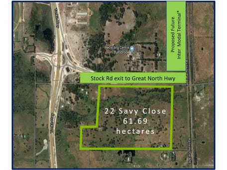 Future Light Industrial Landholding, 22 Savy Close, Bullsbrook, WA 6084