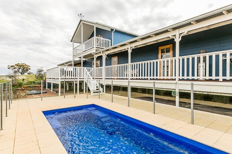 292 Knotts Road (Balladong), York, 6302, East - Lifestyle / Stunning Queenslander on 82 Acres Overlooking York / Balcony / Deck / Shed / Swimming Pool - Inground / Carport: 4 / Garage: 2 / Secure Parking / Built-in Wardrobes / Dishwasher / Reverse-cycle Air Conditioning / Toilets: 3 / $899,000