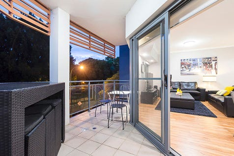 38/4 Delhi Street, West Perth, 6005, Perth City - Apartment / UNDER CONTRACT / Balcony / Courtyard / Outdoor Entertaining Area / Outside Spa / Garage: 2 / Secure Parking / Air Conditioning / Alarm System / Built-in Wardrobes / Dishwasher / Floorboards / Gym / Indoor Spa / Intercom / $595,000