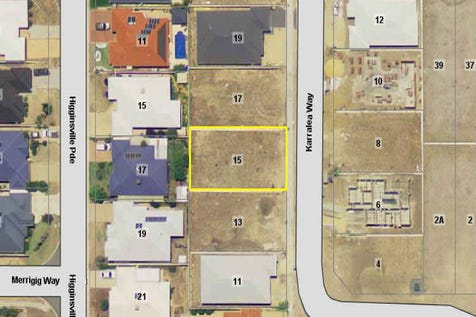 15 Karralea Way, Pearsall, 6065, North East Perth - Residential Land / GREAT BLOCK, TITLED, READY TO BUILD / $350,000