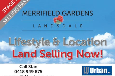 L147 Alhambra Parkway, Landsdale, 6065, North East Perth - Residential Land / 1st Home! Invest! Right Size! / $295,000