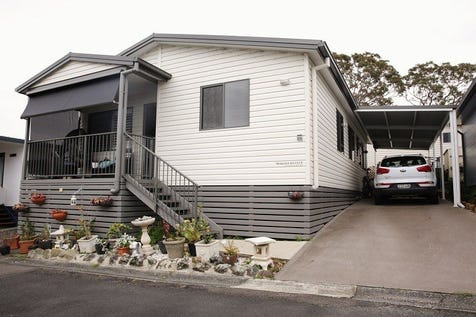 68/186 Sunrise Avenue, Halekulani, 2262, Central Coast - Villa / MODERN 3 BEDROOM HOME - Manufactured Home in Bevington Shores Over 50's Lifestyle Village on the Central Coast / Balcony / Shed / Carport: 2 / Built-in Wardrobes / Dishwasher / Split-system Air Conditioning / Ensuite: 1 / Living Areas: 1 / Toilets: 2 / $285,000